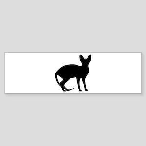 Sphinx cat Sticker (Bumper)