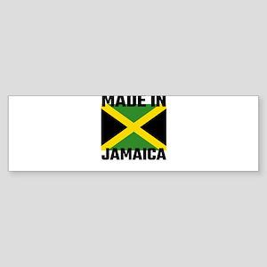 Made In Jamaica Bumper Sticker