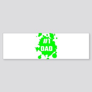 Number One Dad Bumper Sticker