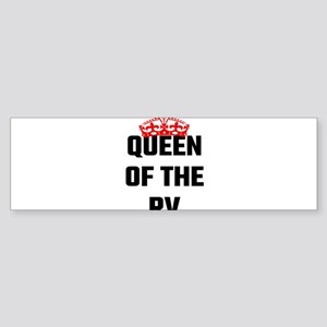 Queen Of The RV Bumper Sticker