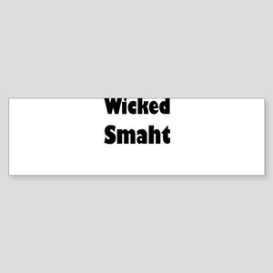 Wicked Smaht Bumper Sticker