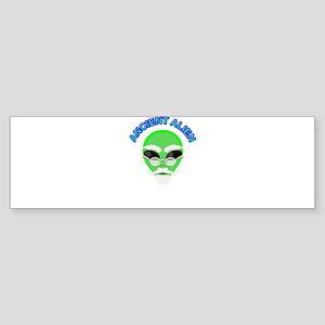 An Ancient Alien Bumper Sticker