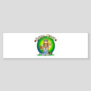 The Original Hippie Bumper Sticker