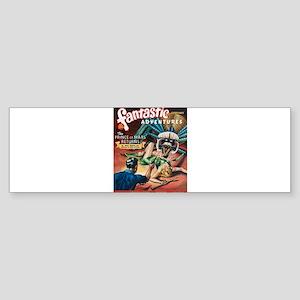 Fantastic Adventures-VINTAGE PULP MAGAZINE COVER B