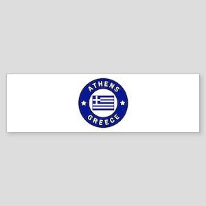 Athens Greece Bumper Sticker