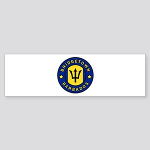 Bridgetown Barbados Bumper Sticker