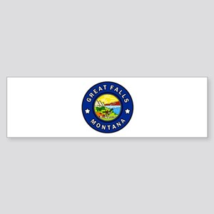 Great Falls Montana Bumper Sticker