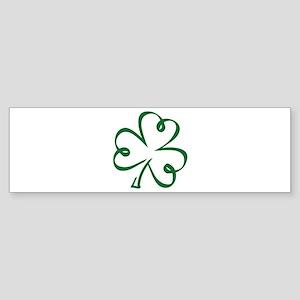 Shamrock clover Sticker (Bumper)