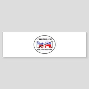 Fuck The CFR! Council on Fore Sticker (Bumper)