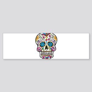 Sugar Skull Sticker (Bumper)