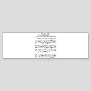 Moonlight-Sonata-Ludwig-Beethoven Bumper Sticker