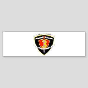 SSI - 1st Battalion - 3rd Marines Sticker (Bumper)