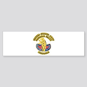 Army National Guard - Missouri Sticker (Bumper)