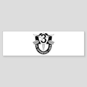 3rd Special Forces - DUI - No Txt Sticker (Bumper)