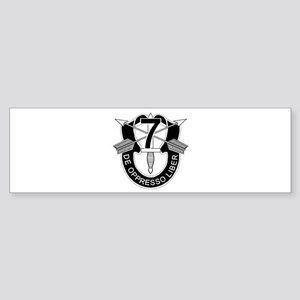 7th Special Forces - DUI - No Txt Sticker (Bumper)
