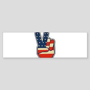 peaceusa Bumper Sticker