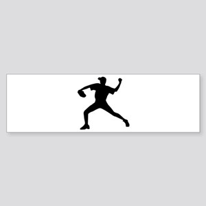 Baseball - Pitcher Sticker (Bumper)