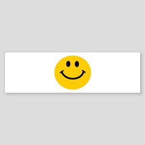 Yellow Smiley Face Sticker (Bumper)