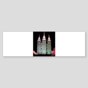 SLC Temple Sticker (Bumper)
