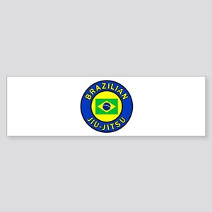 Brazilian Jiu-Jitsu Bumper Sticker