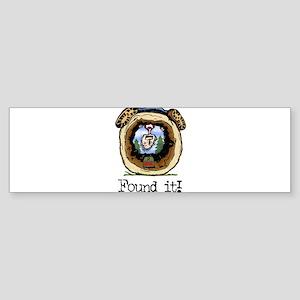 FoundIt1 Sticker (Bumper)