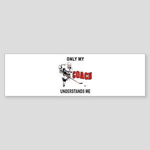 HOCKEY COACH Bumper Sticker