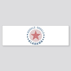 Muscle Shoals, Alabama Souvenir Bumper Sticker