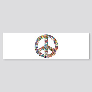 Peace to All Nations Bumper Sticker