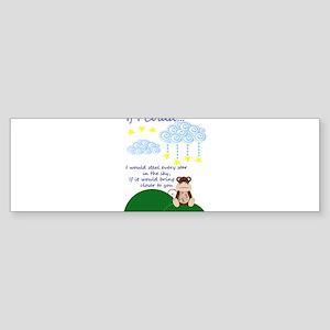 Missing You Sticker (Bumper)