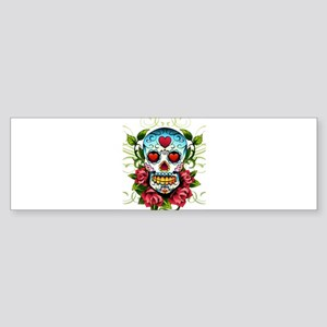 SugarSkull1 Bumper Sticker