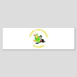 SOF - Sammy - Freddie - Go to War Sticker (Bumper)