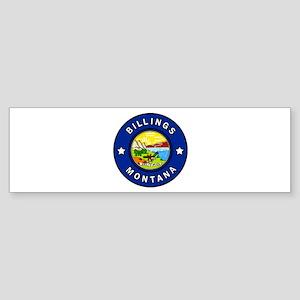 Billings Montana Bumper Sticker