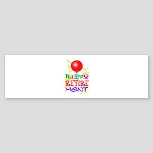 Happy Retirement Bumper Sticker