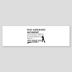 Cool Jeet Kune Do designs Sticker (Bumper)