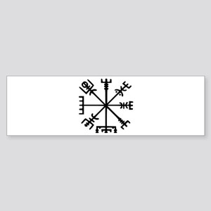 Viking Compass : Vegvisir Sticker (Bumper)
