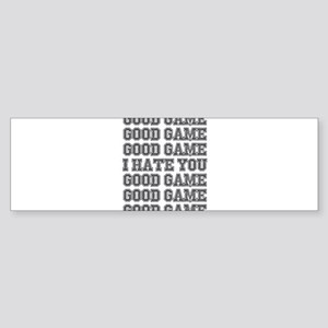 Good Game Bumper Sticker