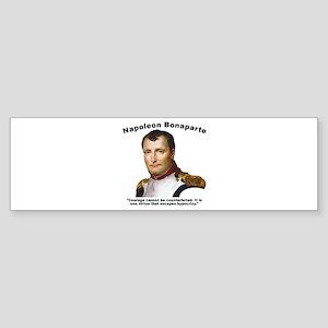 Napoleon Courage Sticker (Bumper)