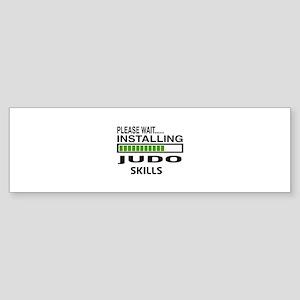 Please wait, Installing Judo Skil Sticker (Bumper)