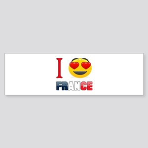I love France Sticker (Bumper)