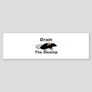 Drain The Swamp (bumper) Bumper Sticker