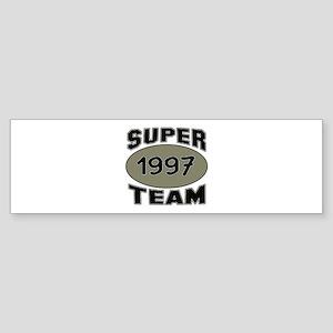 Super Team 1997 Sticker (Bumper)