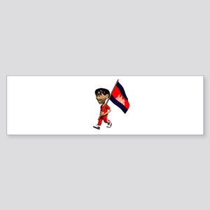 Cambodia Boy Bumper Sticker
