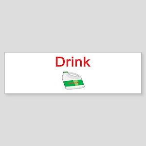 Drink Bleach Bumper Sticker