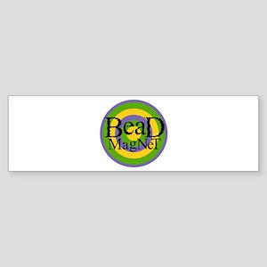 Bead Magnet Bumper Sticker