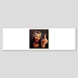 Jesus Was A Lefty Bumper Sticker