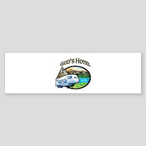 God's Hotel Bumper Sticker