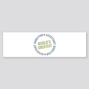 World's Greatest Assistant Director Sticker (Bumpe