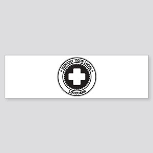 Support Lifeguard Bumper Sticker