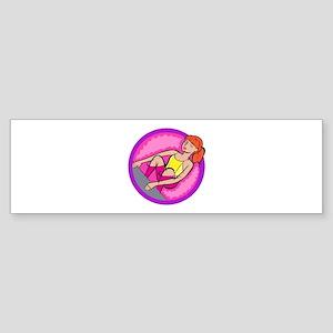 Back Stroke Bumper Sticker