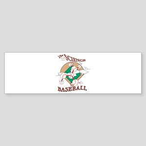 The Science Of Baseball Bumper Sticker